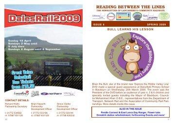 RBTL Issue 6 - Community Rail Lancashire