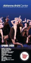 2009 Spring Brochure - Adrienne Arsht Center