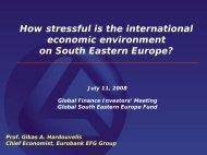 How stressful is the international economic ... - Hardouvelis.gr