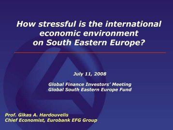 How stressful is the international economic ... - Hardouvelis.gr