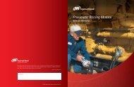 Pneumatic Barring Motors - Ingersoll Rand