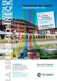 Programme de l'événement - Euromontana