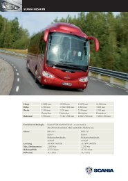 Scania Irizar PB Produktblatt