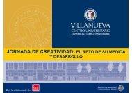 JORNADA DE CREATIVIDAD: EL RETO DE SU ... - TEA Ediciones