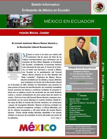 Boletin_febrero_2012 27feb[1] - Secretaría de Relaciones Exteriores
