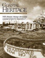 D Will climate change devastate coastal ... - SC Sea Grant Consortium