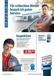 Unser aktuelles Bosch-Car-Service-Prospekt ... - Falch - Bosch Service