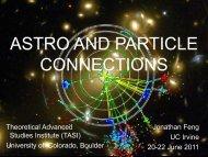 Dark Matter - University of Colorado Boulder