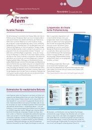 Newsletter 01/2012 - Der zweite Atem