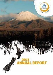 2011 Annual Report - YHA New Zealand