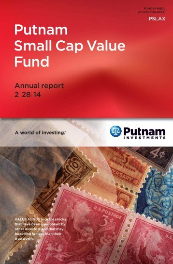 Small Cap Value Fund Annual Report - Putnam Investments