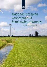 nl nationaal actieplan voor energie uit hernieuwbare bronnen