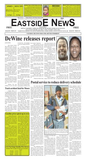 February 8 - east side daily news