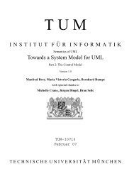 Towards a System Model for  UML. Part 2 - SE@RWTH