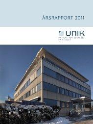 Årsrapport 2011 - Unik