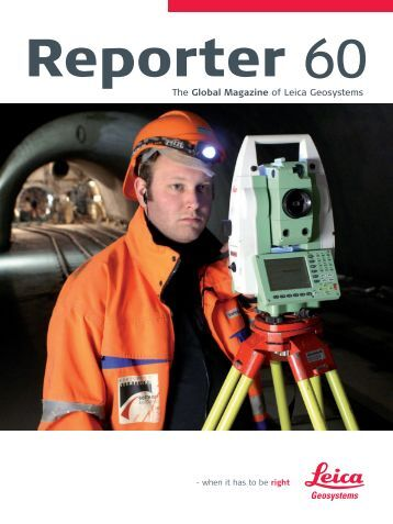 Reporter No 60, May 2009, English (PDF 2,58 MB) - Leica ...