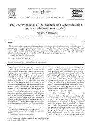 J. Magn. Magn. Mater. 272-276, E177-8 - Niels Bohr Institutet