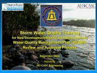 which cleans the water - Riverside County Flood Control