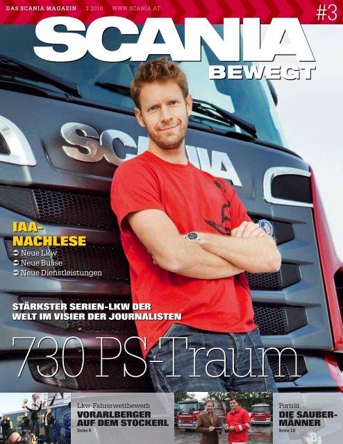 scania bewegt 2010-03 - Scania Österreich Ges.mbH
