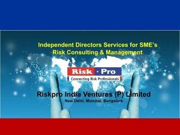 Independent Dir_SME Services.pdf - Riskpro