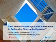Real I.S. Gruppe Vorstellung Risikomanagementsystem ... - Scope