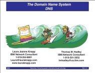Domain Name System (DNS) - Laura Jeanne Knapp