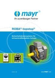 ROBA®-topstop® - Mayr