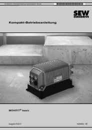 MOVIFIT® basic - SEW-Eurodrive