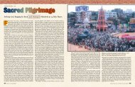 Sacred Pilgrimage - Hinduism Today Magazine