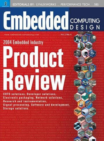 2004 Embedded Industry Product Review - OpenSystems Media