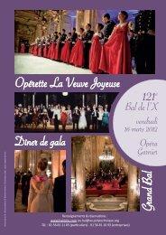 121e Bal de l'X, vendredi 16 mars 2012 à l'Opéra Garnier
