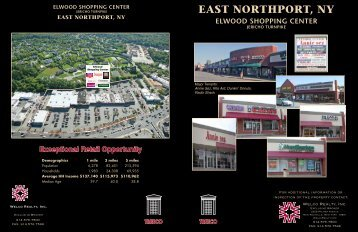 elwood shopping center - Welco Realty, Inc