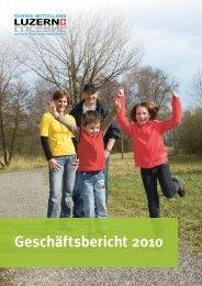 Geschäftsbericht 2010 - Region Sursee-Mittelland