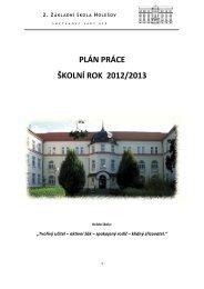 Plán práce na rok 2012 - 2013 - 2. ZŠ Holešov