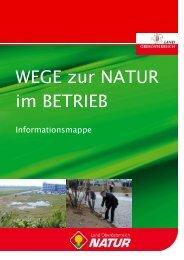 Wege zur Natur im Betrieb - Informationsmappe - Land Oberösterreich