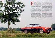 Maserati's kostbaarste - Corsa Media