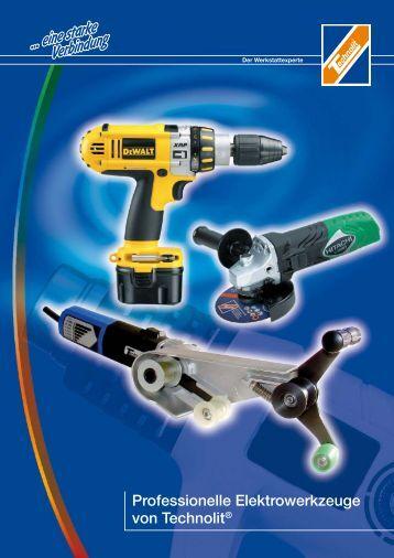 Professionelle Elektrowerkzeuge von Technolit®