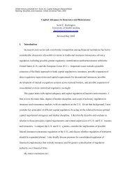 Capital Adequacy in Insurance / Reinsurance -  Scott E. Harrington ...