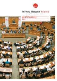 Das Stiftungsjahr 2009 (PDF, 6,1 MB) - Stiftung Mercator Schweiz