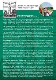 Zum NRZ-Flyer mit Beschreibung des - Verein für Heimatpflege ...