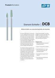 Diamant-Schleifer |DCB - Gebr. Brasseler