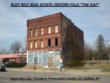 Profitable Preservation: Making Commercial Tax Credits Work for You