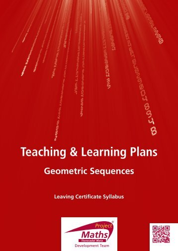 Geometric Sequences - Project Maths