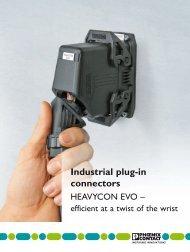 Industrial plug-in connectors - Phoenix Contact