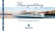 MIT DER EXKLUSIVEN FLUSSYACHT RIVER ... - Sea Cloud Cruises