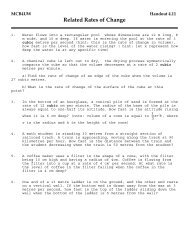 Handout 4.11 - The Burns Home Page
