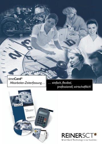 timeCard® Mitarbeiter-Zeiterfassung… - allnetstore.de