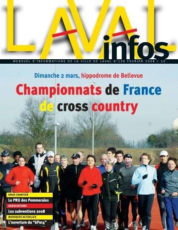 Championnats de France de cross country - Laval