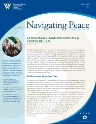 Navigating Peace 3: The New Face of Water Conflict (French)