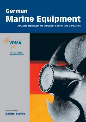 German marine equipment - Schiff & Hafen